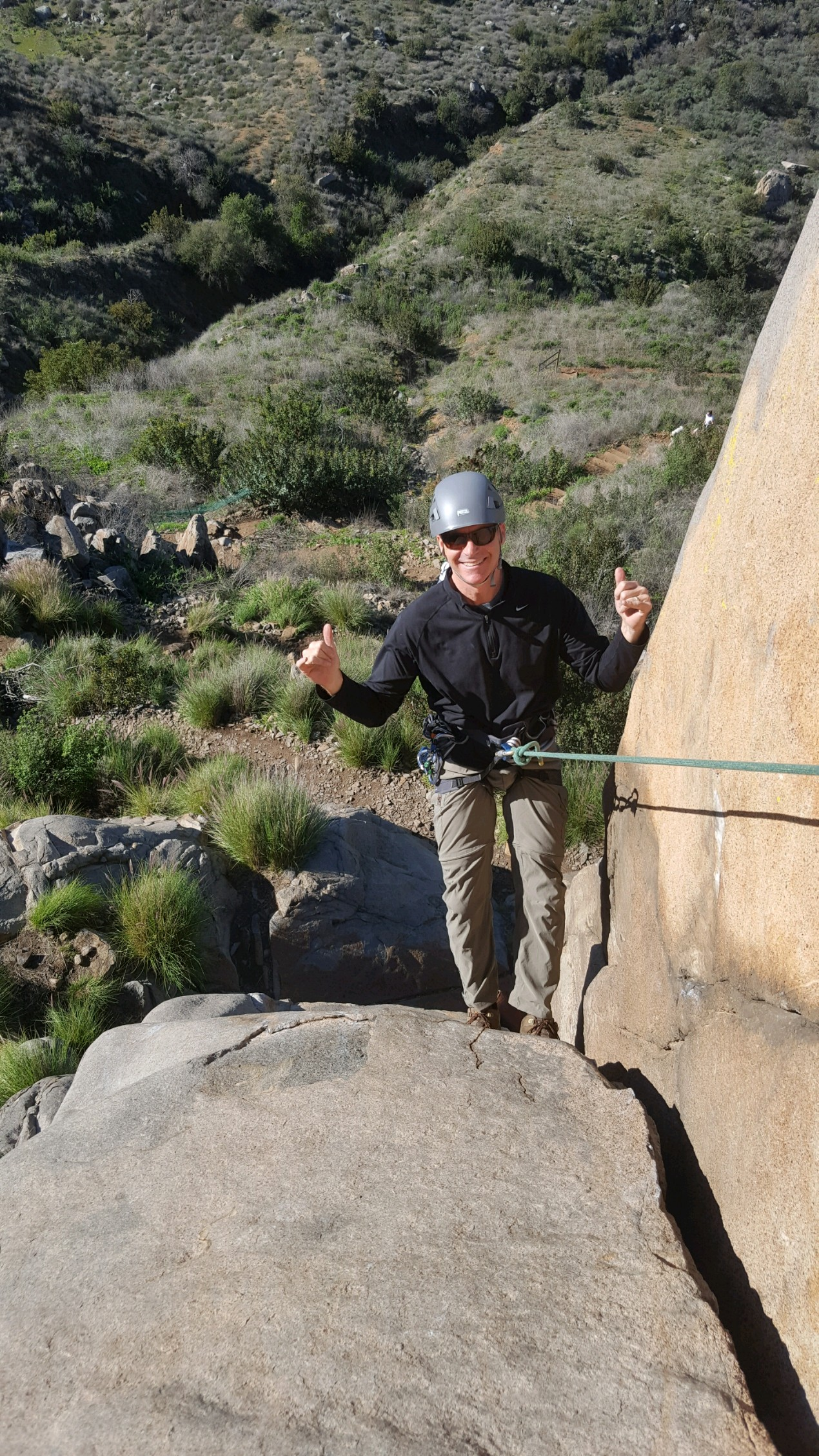 Mission Gorge Rock Climbing