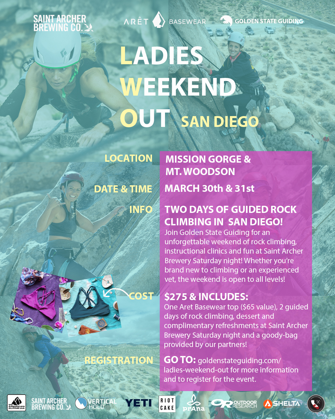 Ladies Weekend Out Spring 2019
