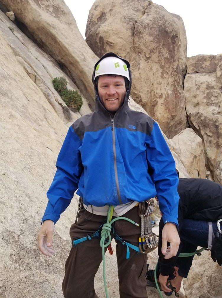 Will Mutterspaugh Aid Climbing Program