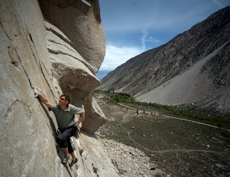 Pine Creek Canyon Rock Climbing Eastern Sierra