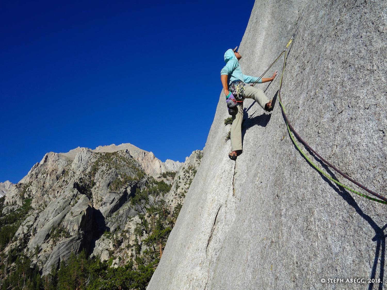 Whitney Portal Buttress Rock Climbing Eastern Sierra