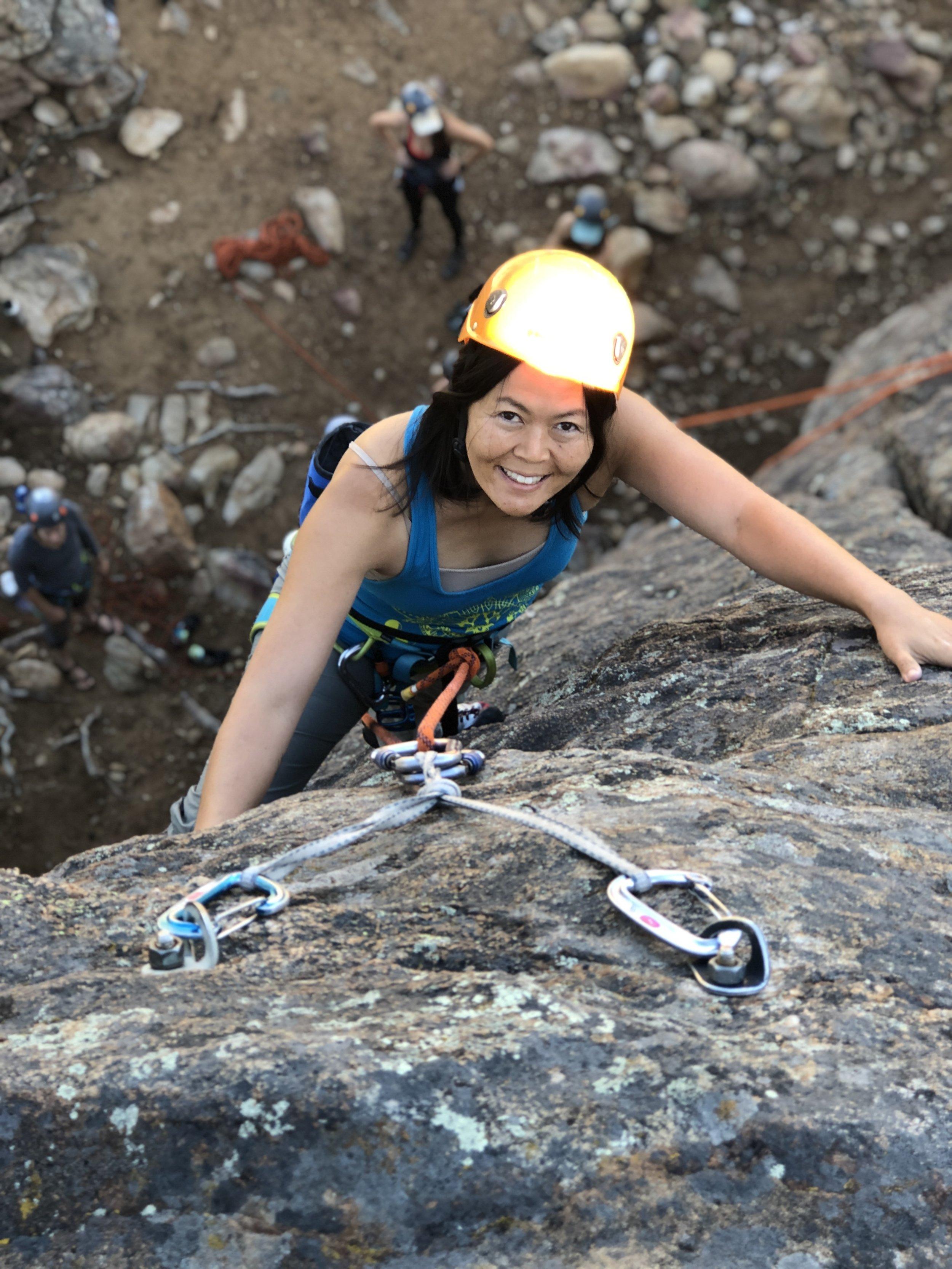 Ladies Weekend Out Colorado Rock Climbing