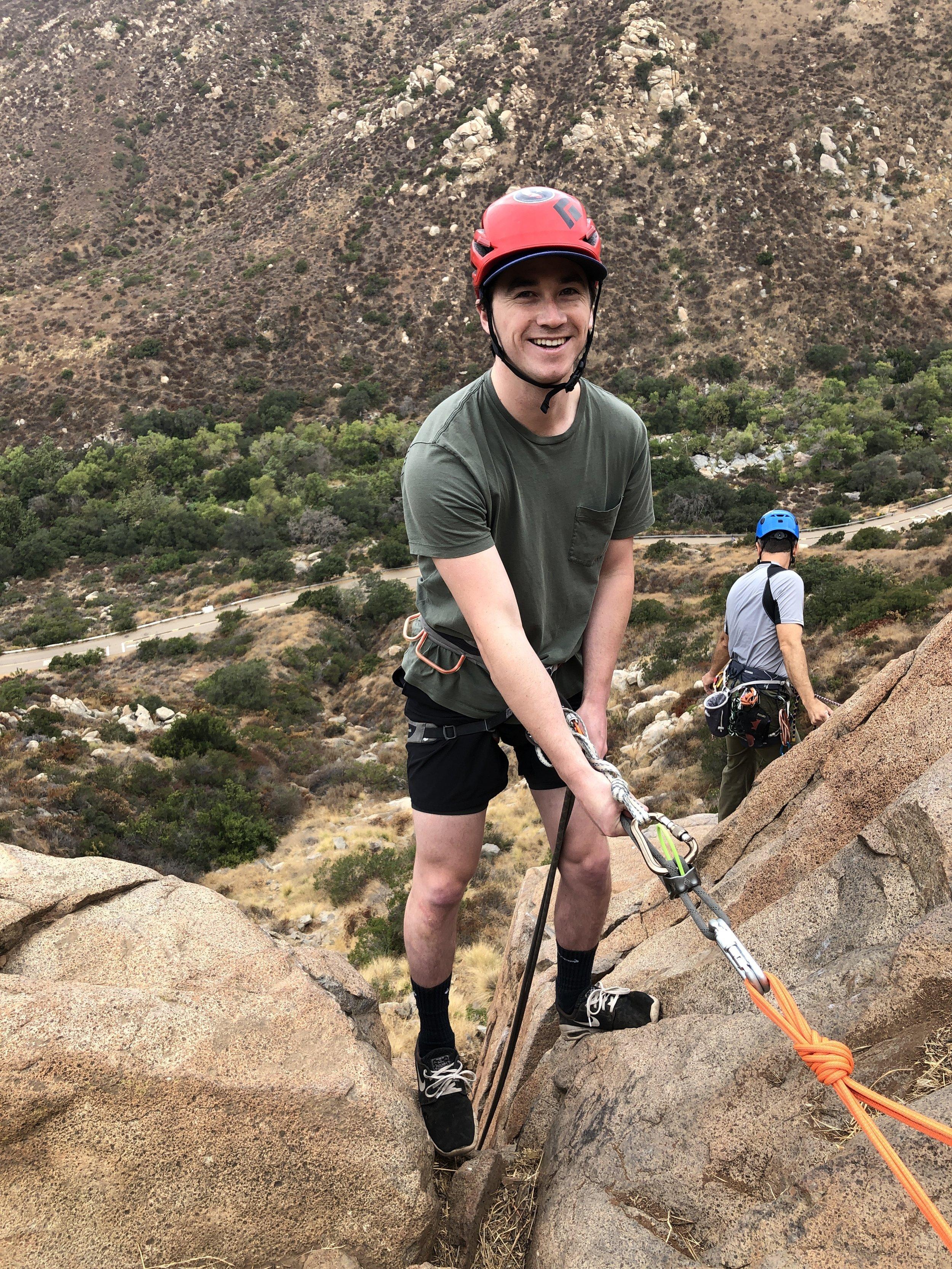 San Diego Rock Climbing Mission Gorge