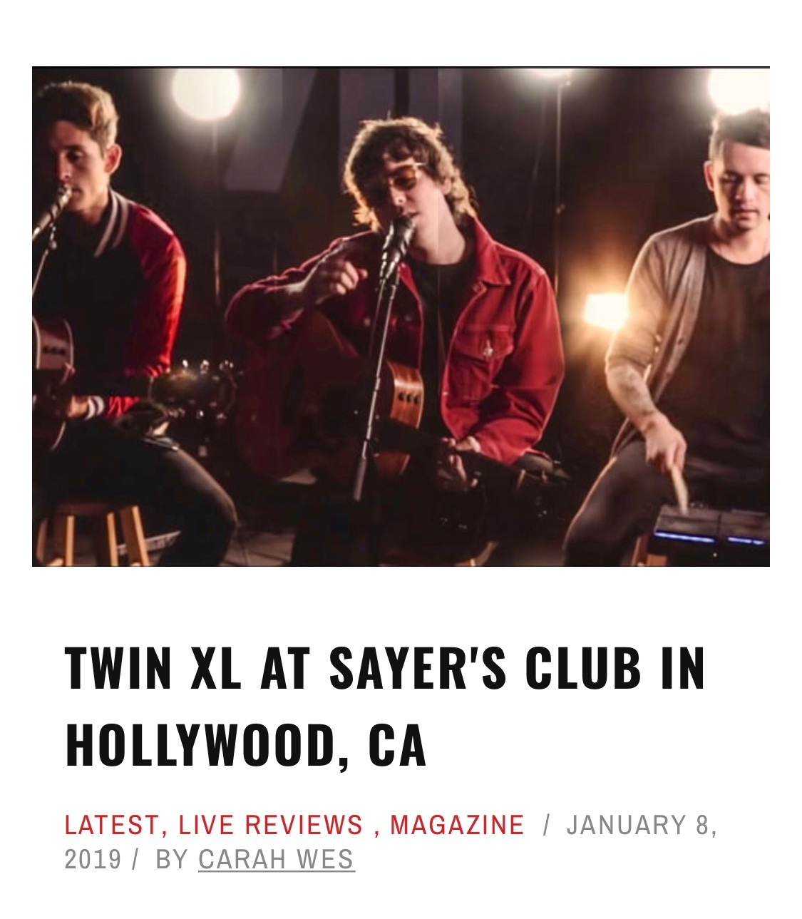 Twin XL @ The Sayer's Club
