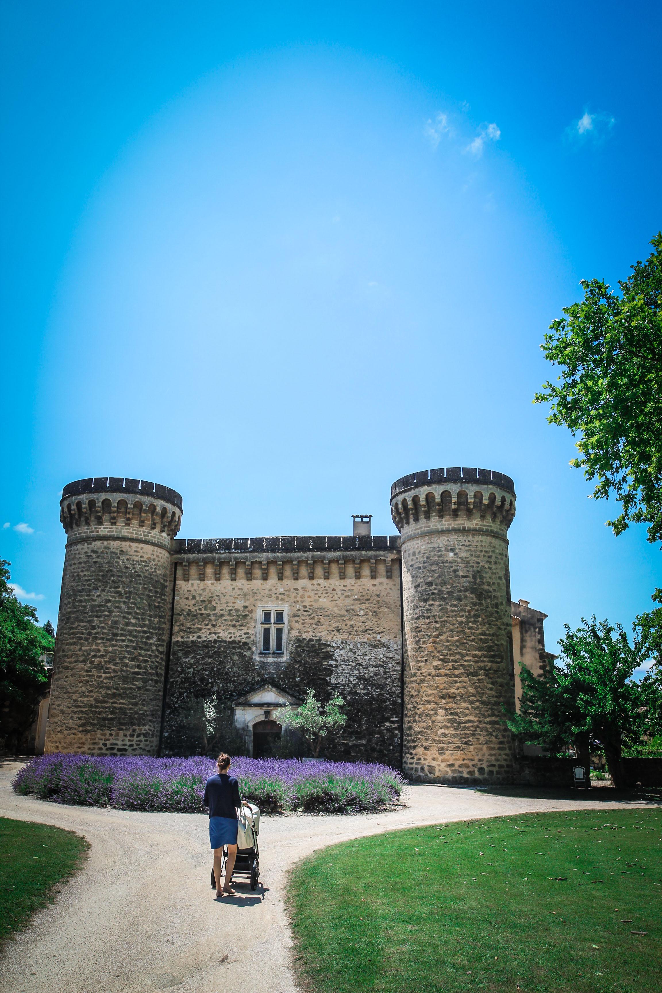 Tuinen - idyllische - château de massillan - Reizen met kinderen - Slapen in een kasteel