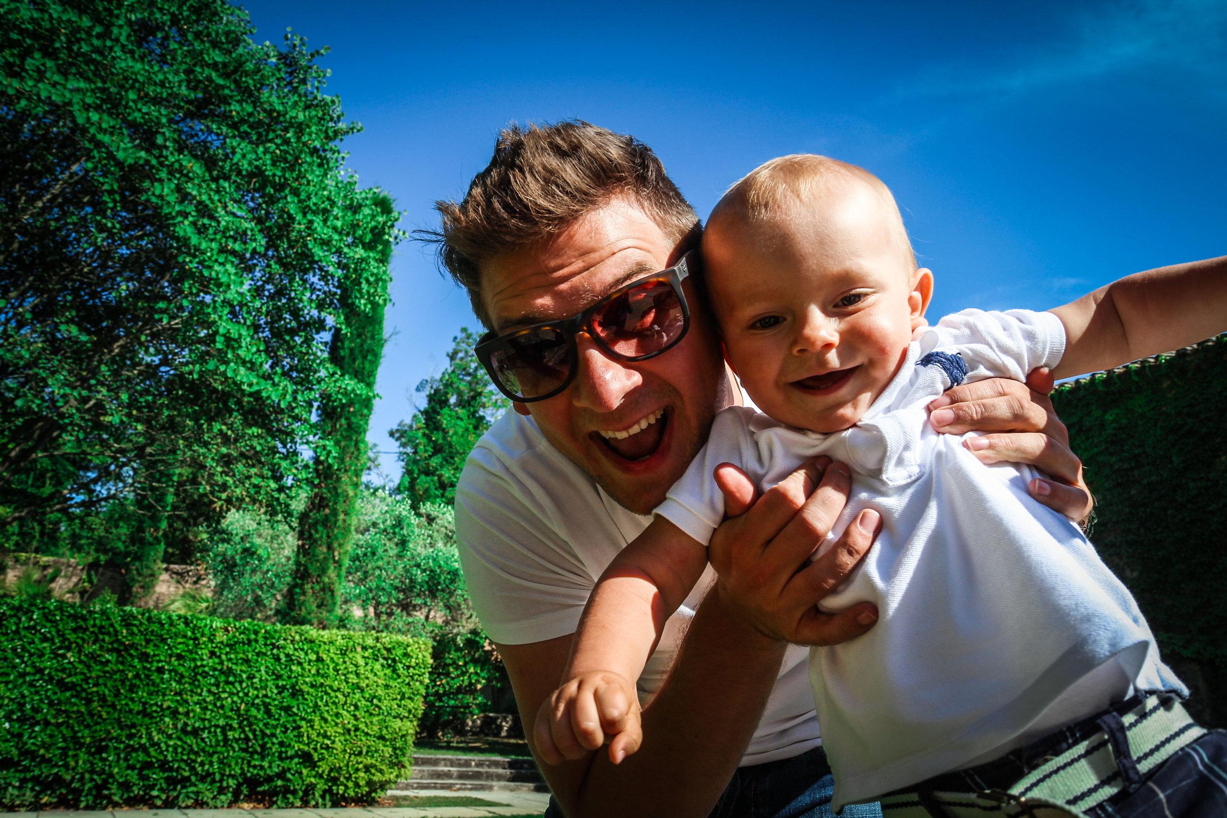 selfie - idyllische - château de massillan - Reizen met kinderen - Slapen in een kasteel