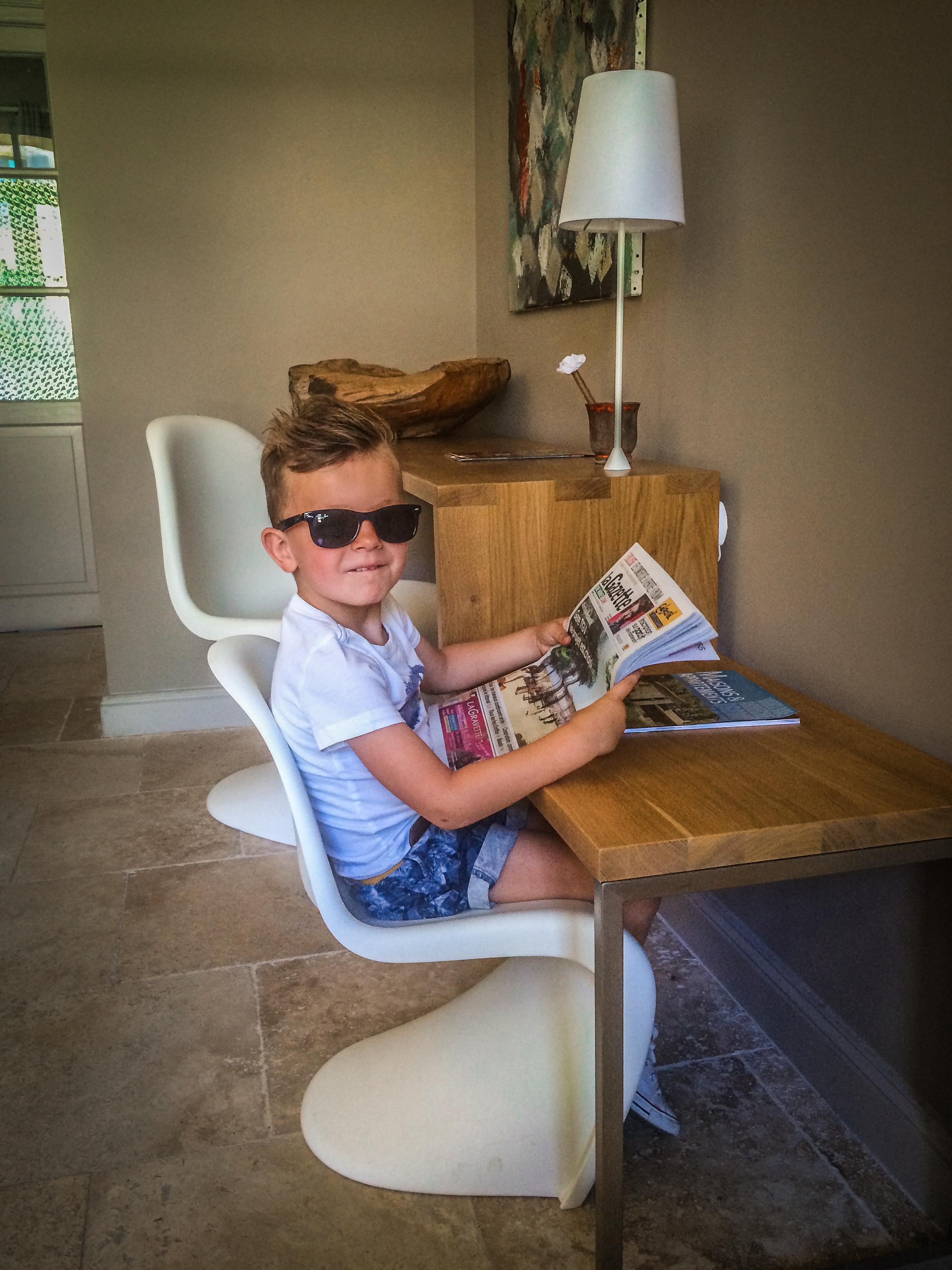 Vitra - idyllische hotels - La bégude Saint Pierre - Reizen met kinderen
