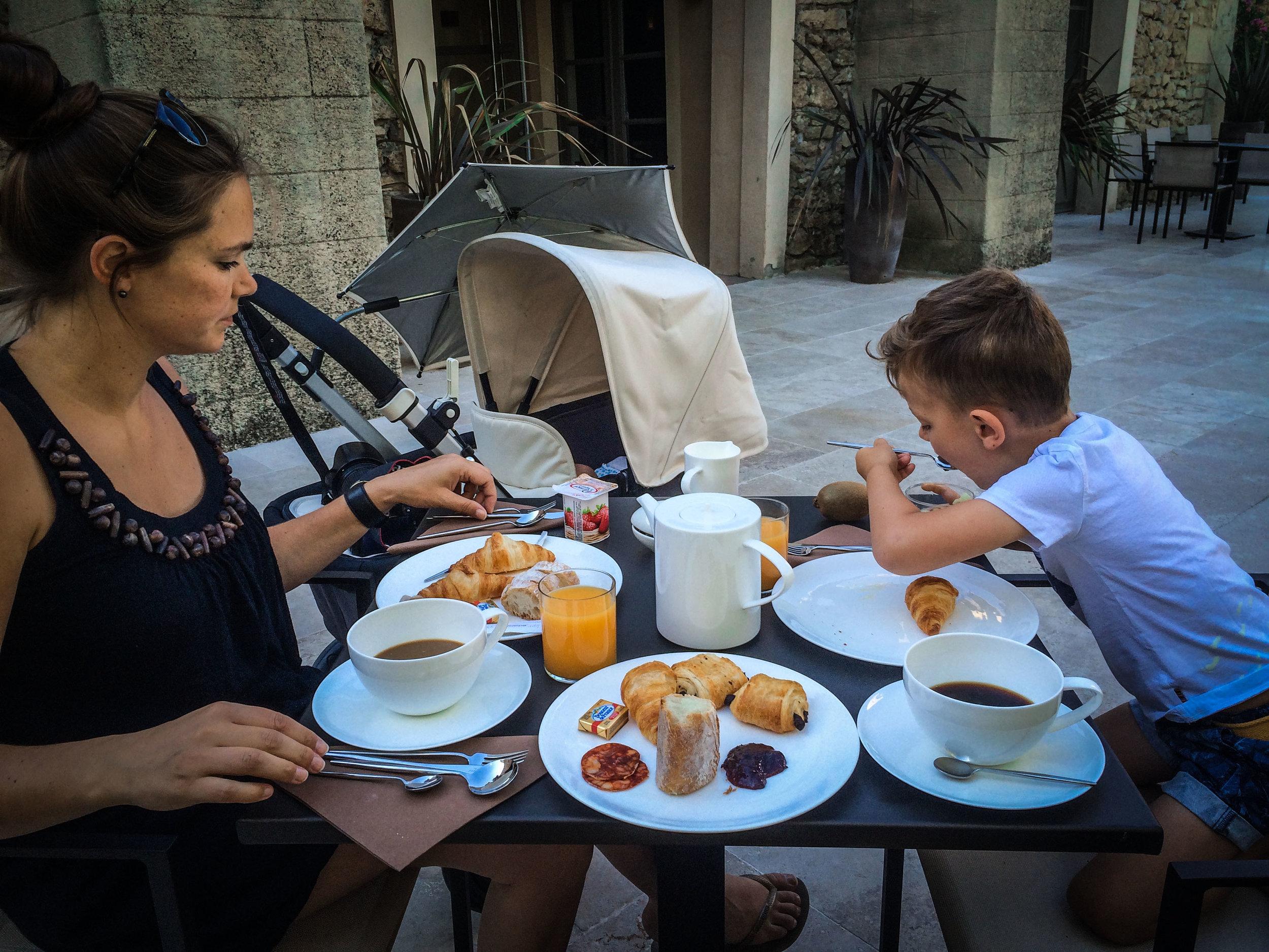 Ontbijt - idyllische hotels - La bégude Saint Pierre - Reizen met kinderen