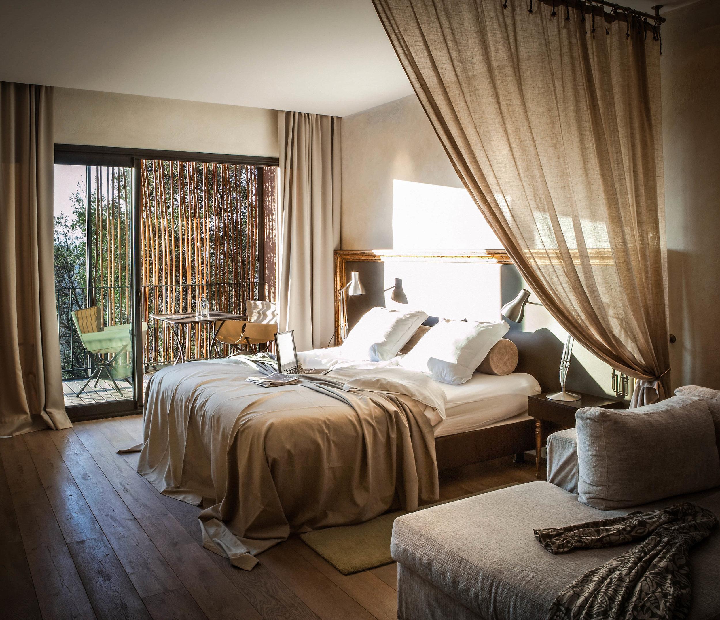 Kamer - idyllische hotels - Castell d'Emporda - Reizen met kinderen