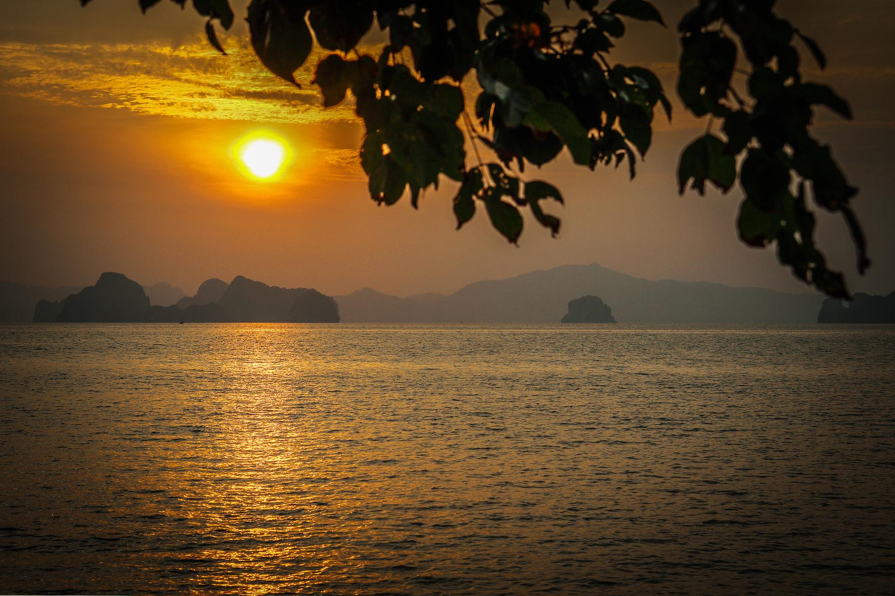 Reizen met Kinderen Thailand  Koh hong Krabi Koh Phi Phi Sunrise.jpg