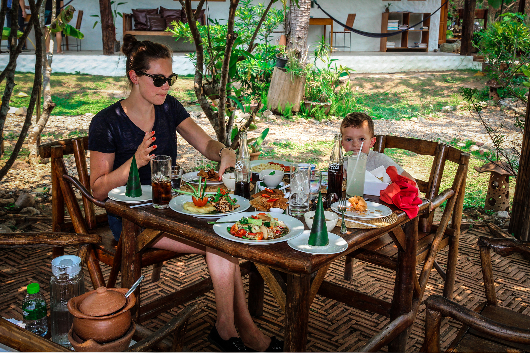 Reizen met Kinderen Thailand Chiang Mai - thai food.jpg