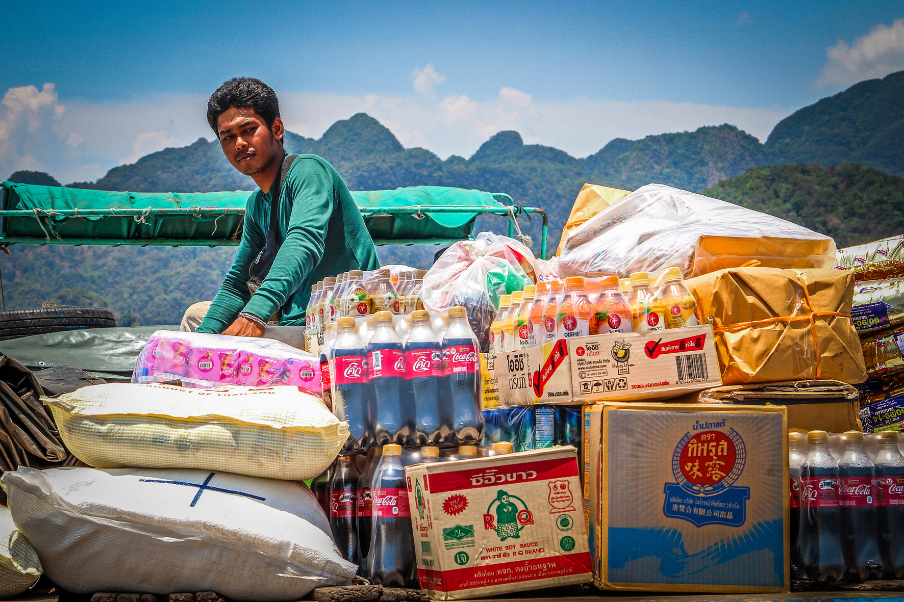 Reizen met Kinderen Thailand Zuiden Koh hong - taxiboat.jpg