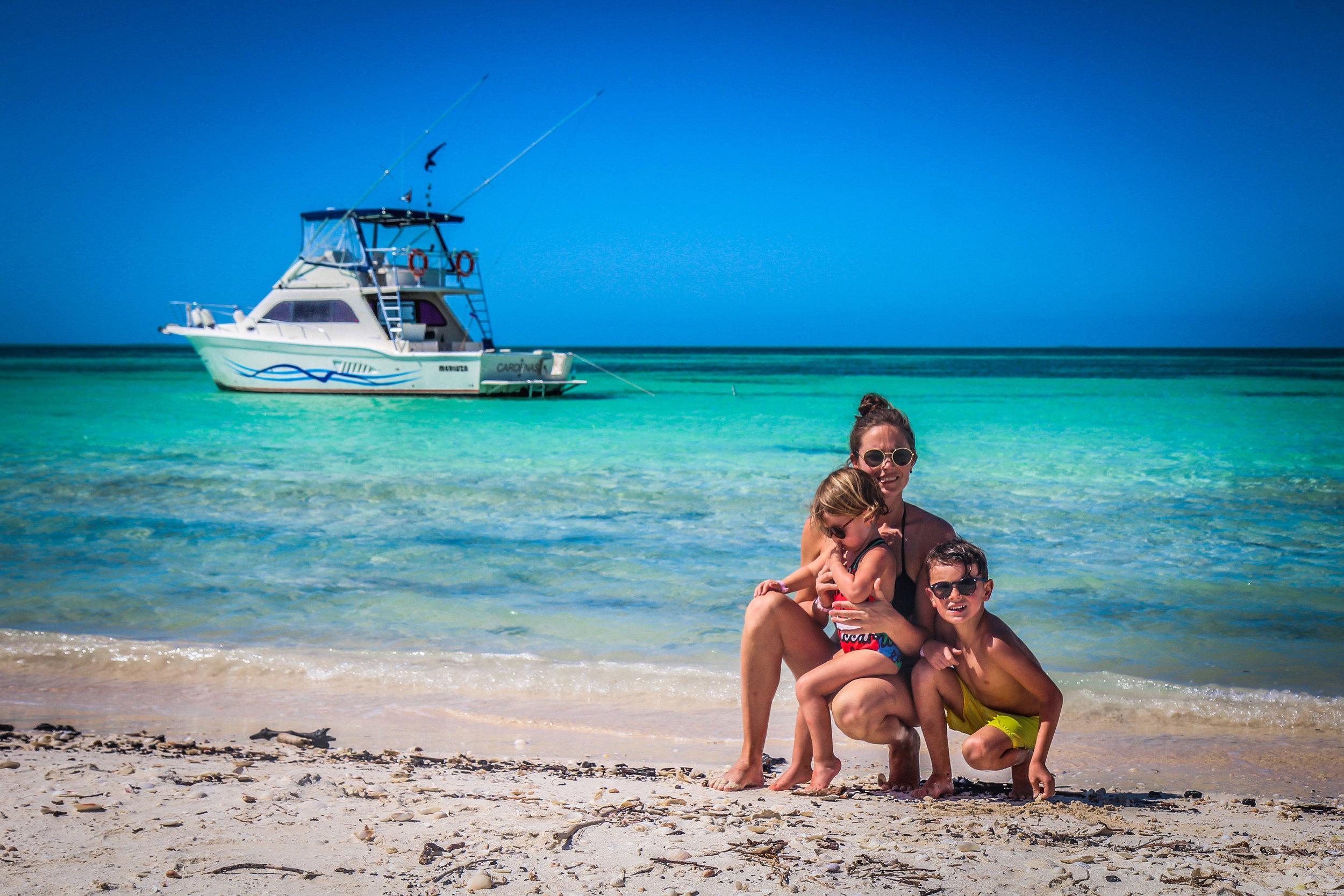 Cuba met kinderen - Cayo Blanco