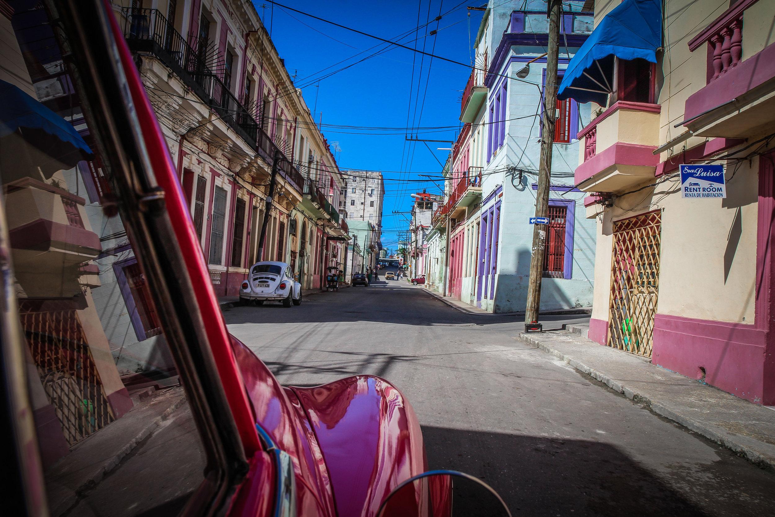 Old havana by Car - Cuba