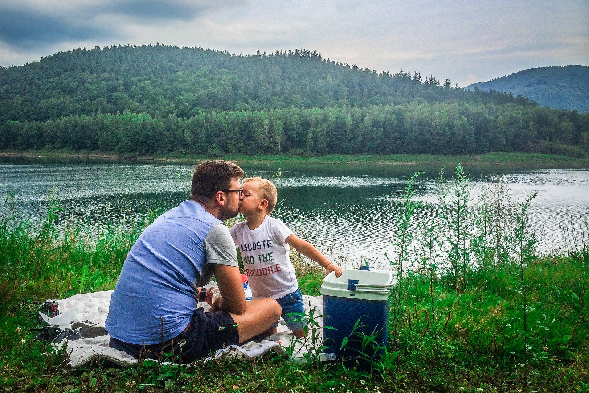 picknick langs de weg - Picknick meer
