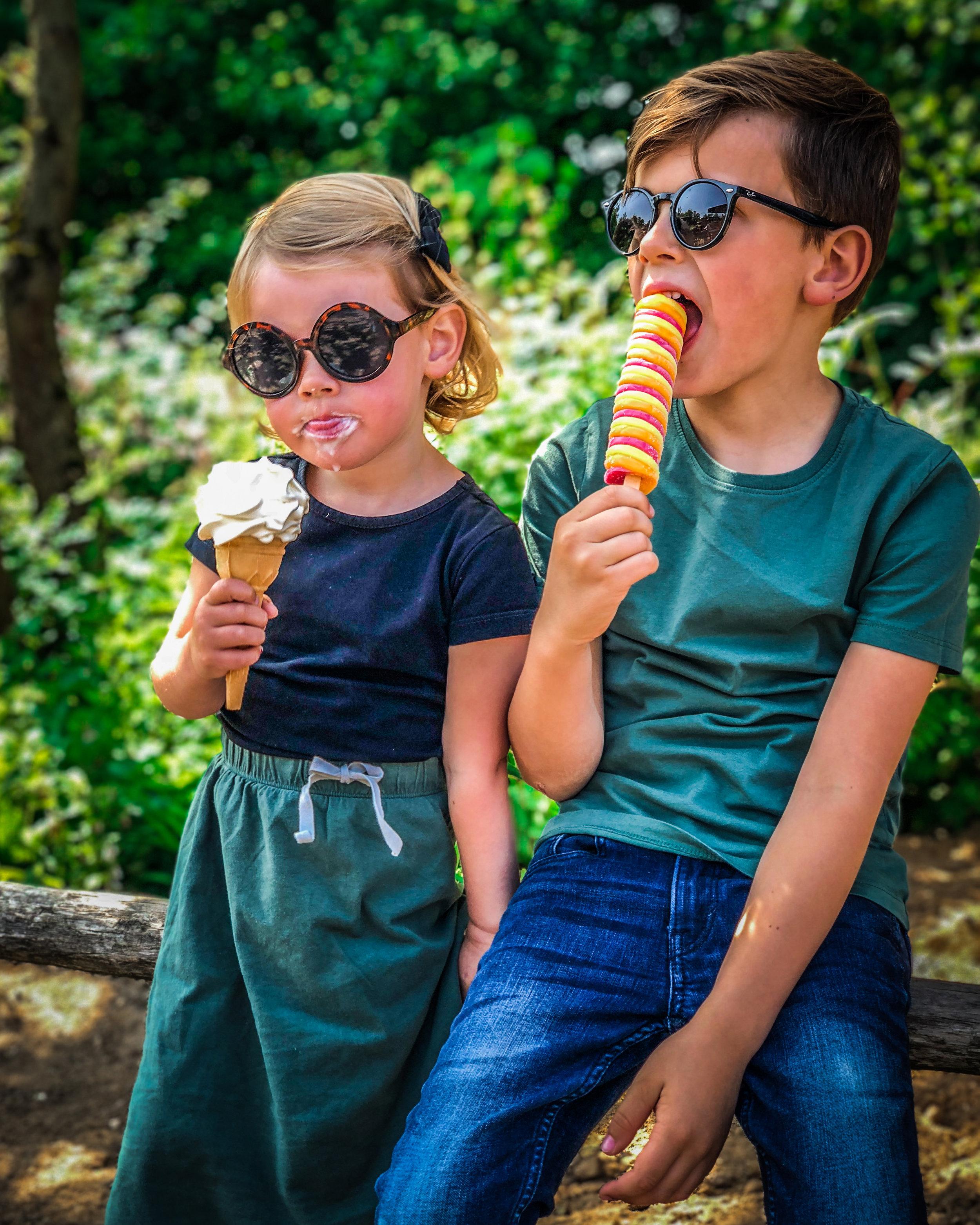 Limburglonkt - Kerkrade Gaiazoo - kinderen moet ijsjes