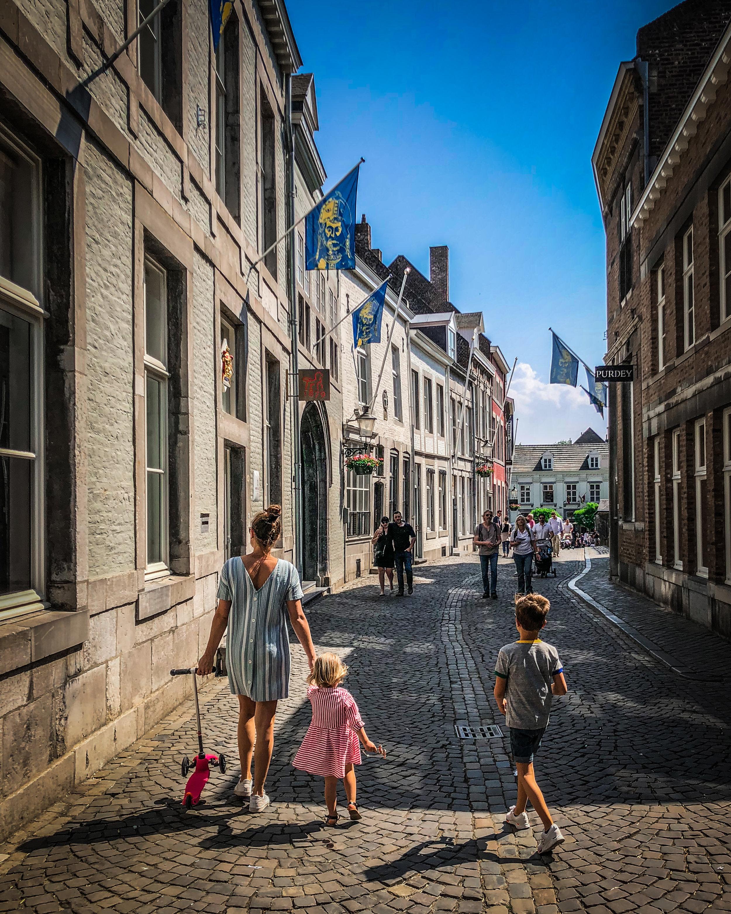 Maastricht binnenpark - met kinderen