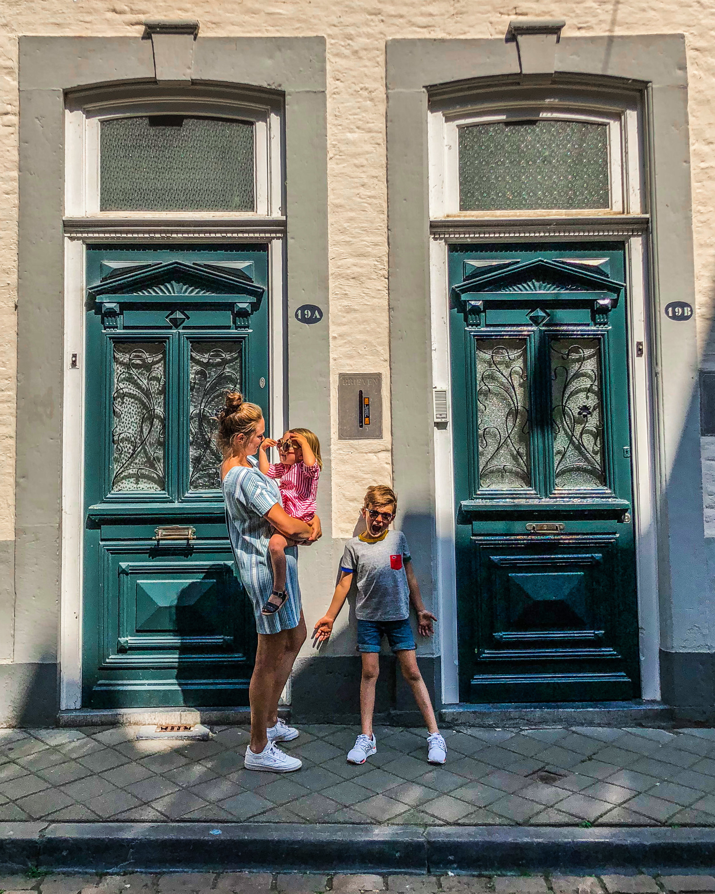 Maastricht binnenpark met kinderen
