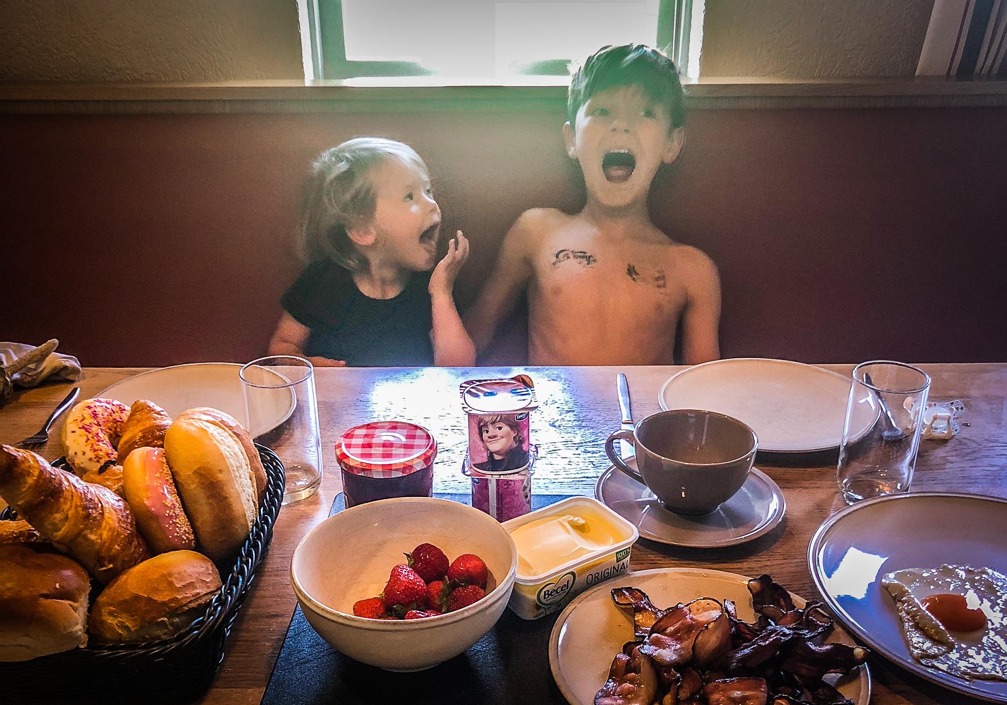 Landal - hoog vaals - met kinderen - tafel