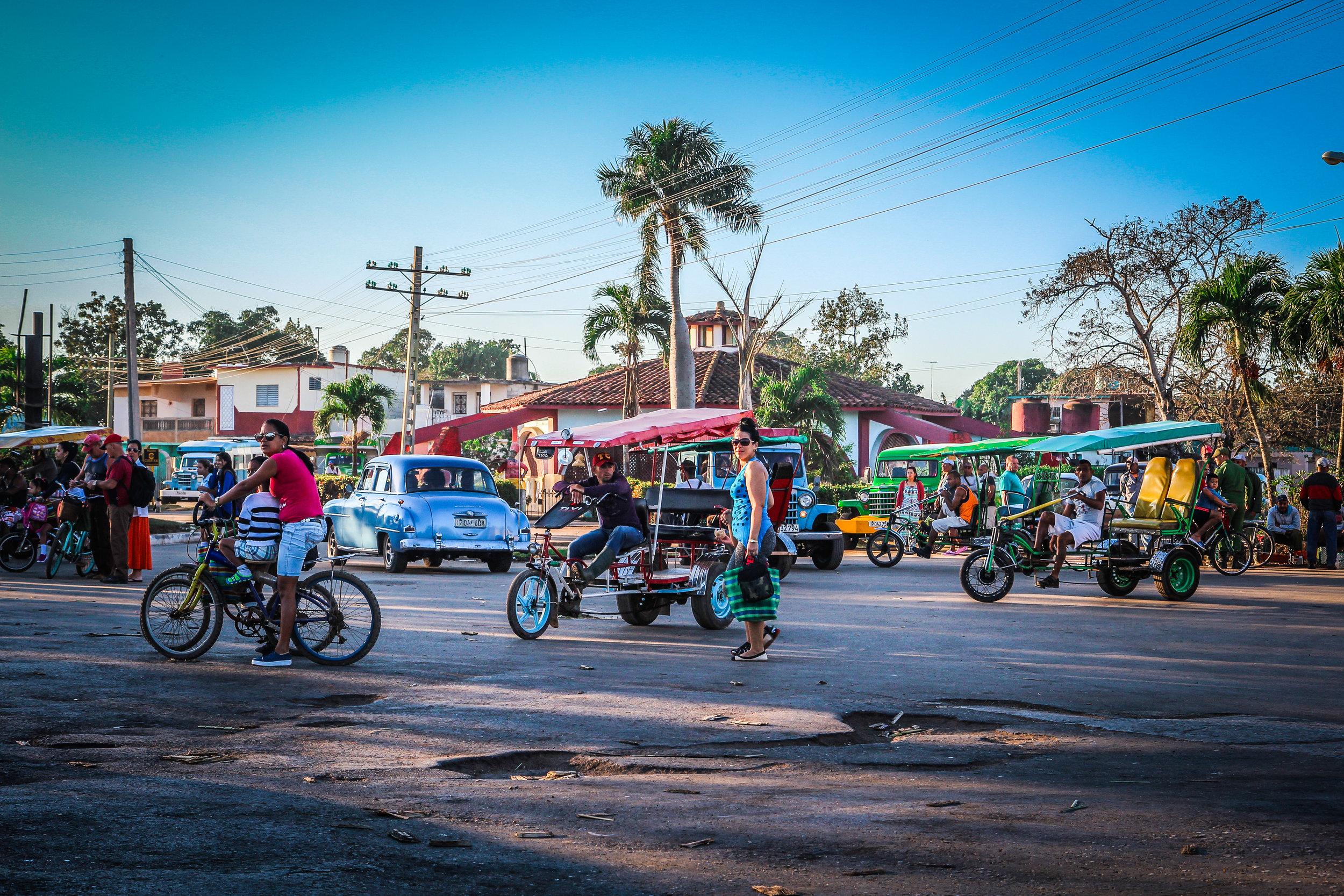 Onderweg naar Trinidad cuba - Jovellanos