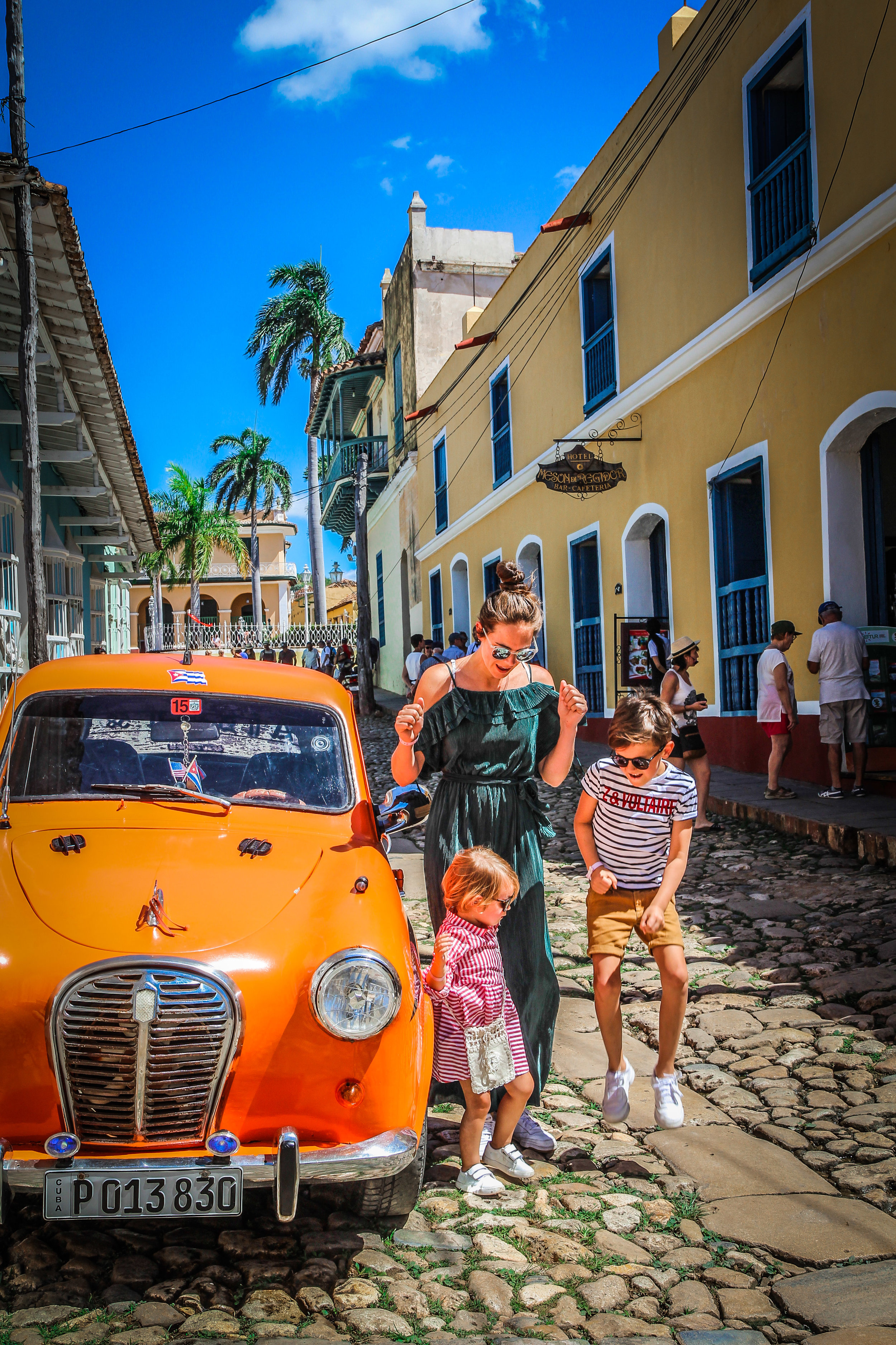 Trinidad familie foto
