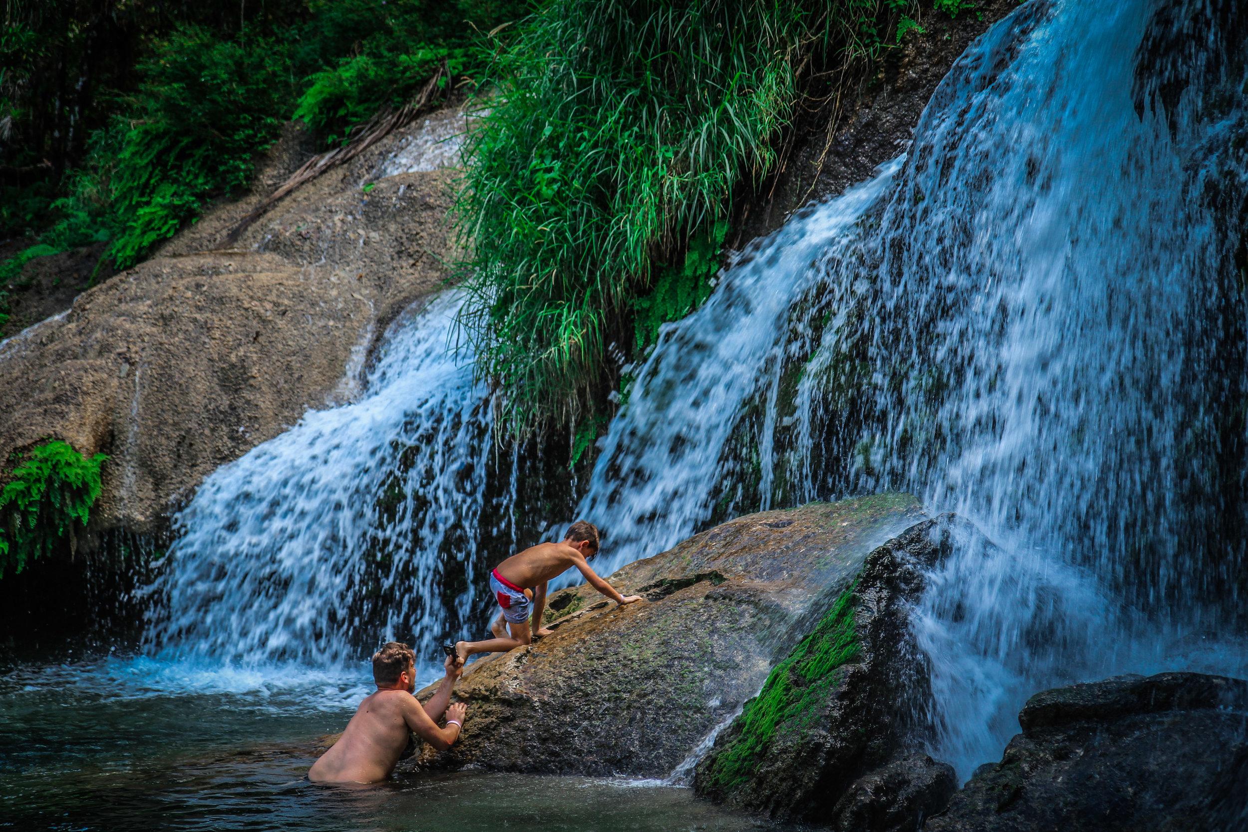 El Nicho - Cuba - watervallen