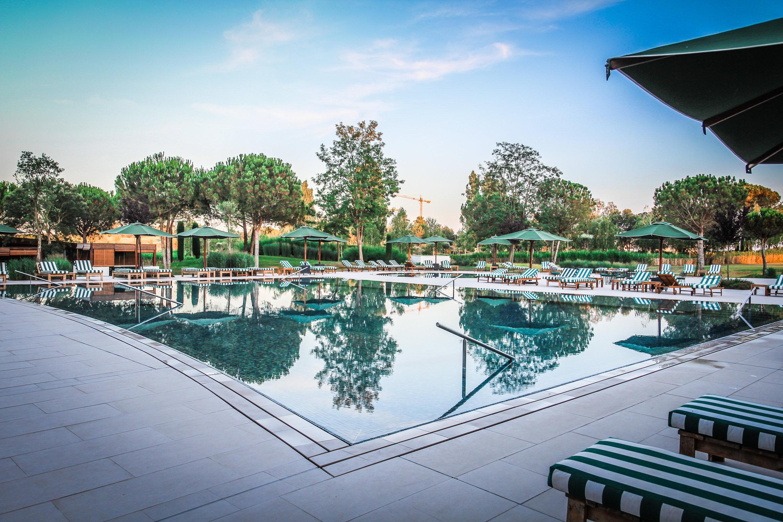 Zwembad Hotel Camiral Catalunya