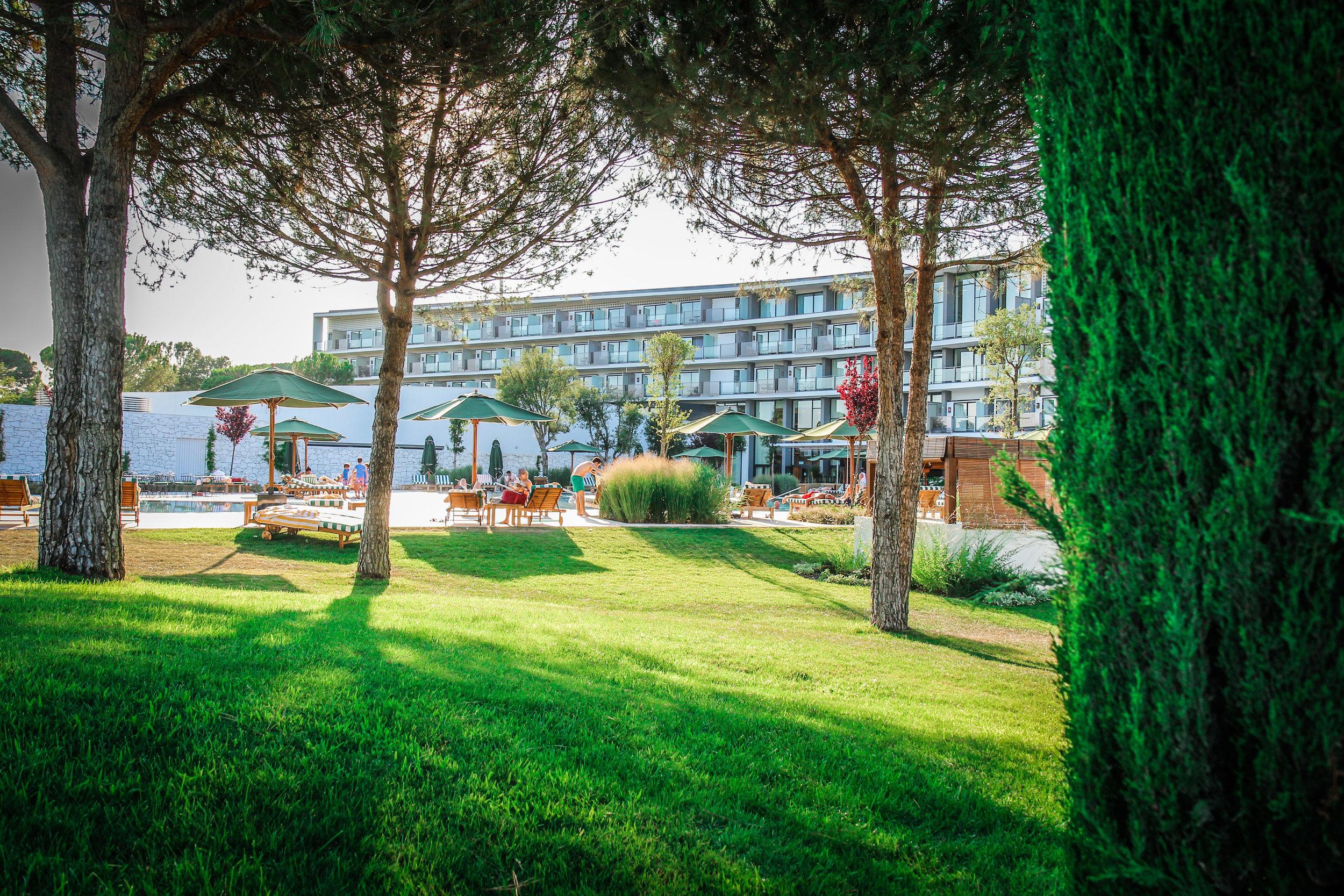 Hotel uitzicht - Camiral