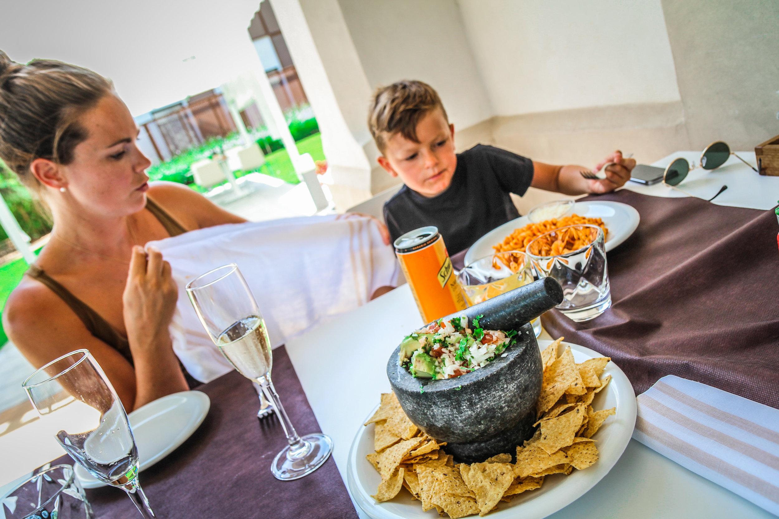Arrey Alella Hotel - Lunch tacos