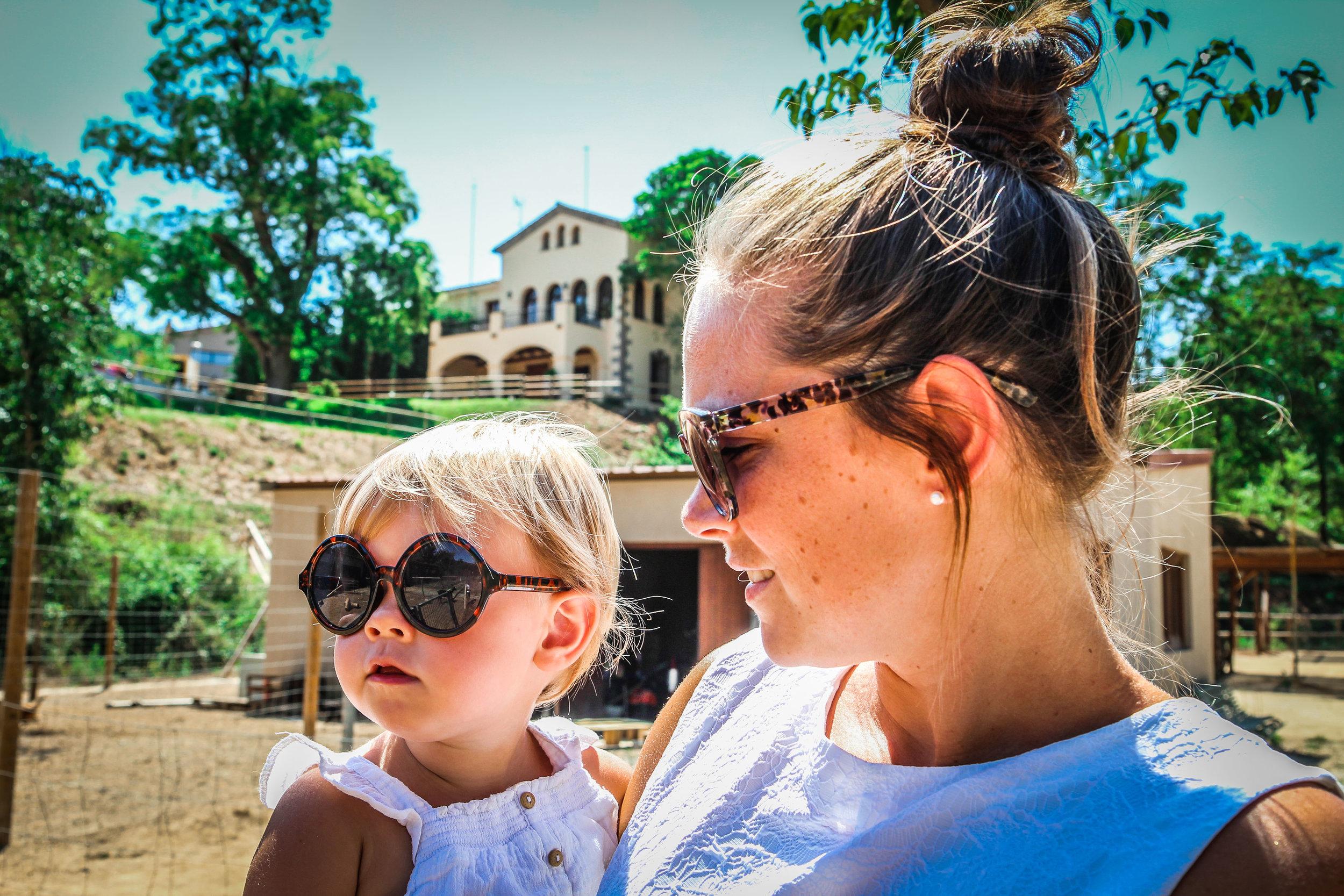 Hotel Mas Salagros - mama dochter - Reizen met kinderen