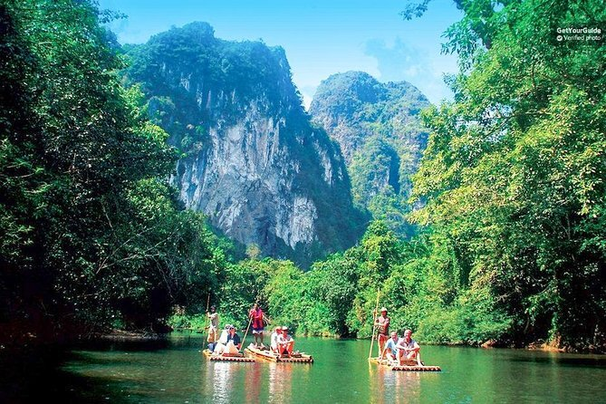 Full Day Bamboo Rafting Tour