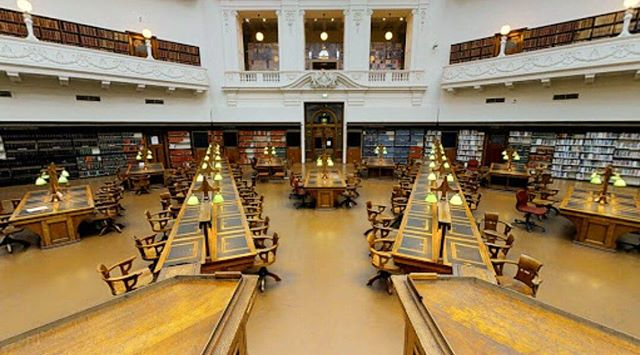 The La Trobe Reading Room at the State Library of Victoria. Explore this and more with Authentic Melbourne Tours.  #melbourne #melbournelife #melbournecity #melbournelocals #library #learning #reading #room #books #beautiful #history #heritage #explore #travel #tourisme #discover #wanderlust