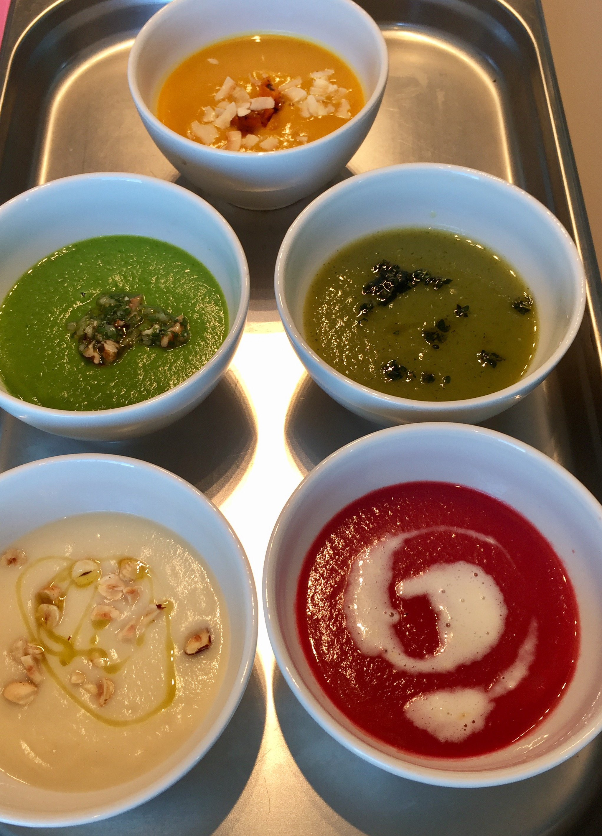 The Aviation Nutritionist Soups… - Arriving soon …
