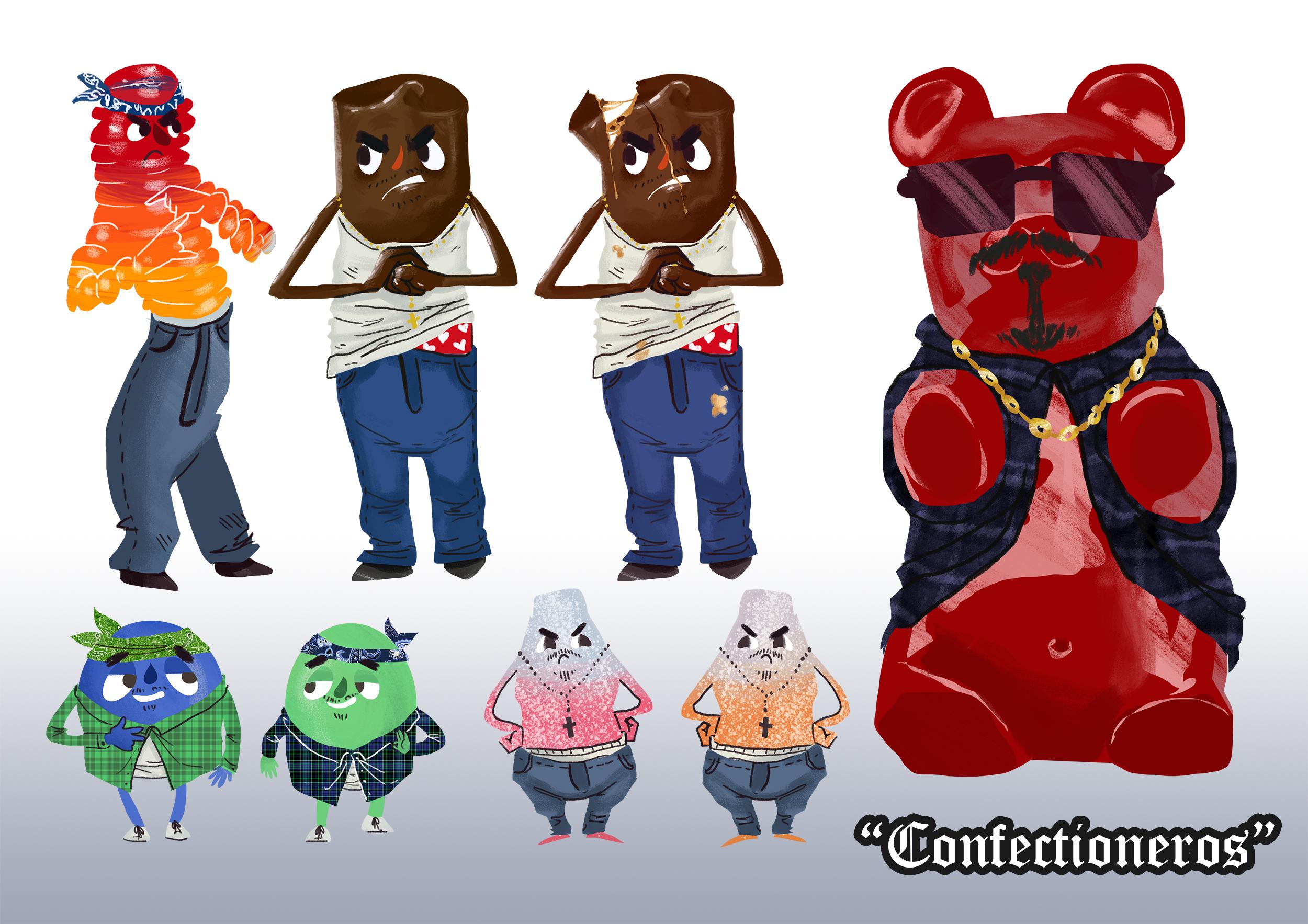 Confectioneros Concept