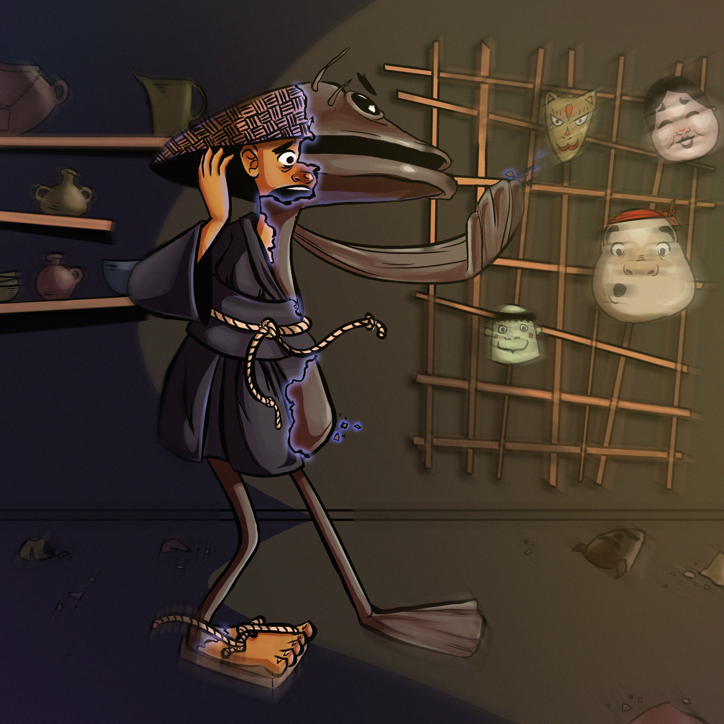 Final Character Illustration