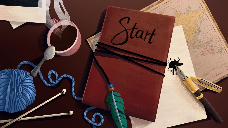 Starting Menu page