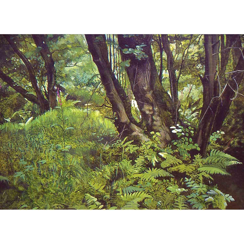 Pond Bay - oil on canvas