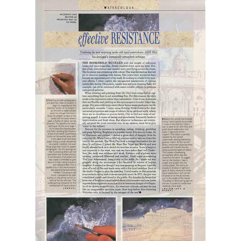 Artist's & Illustrators Magazine Article