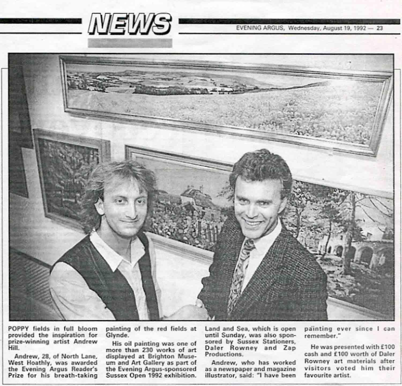 Evening Argus, August 19, 1992