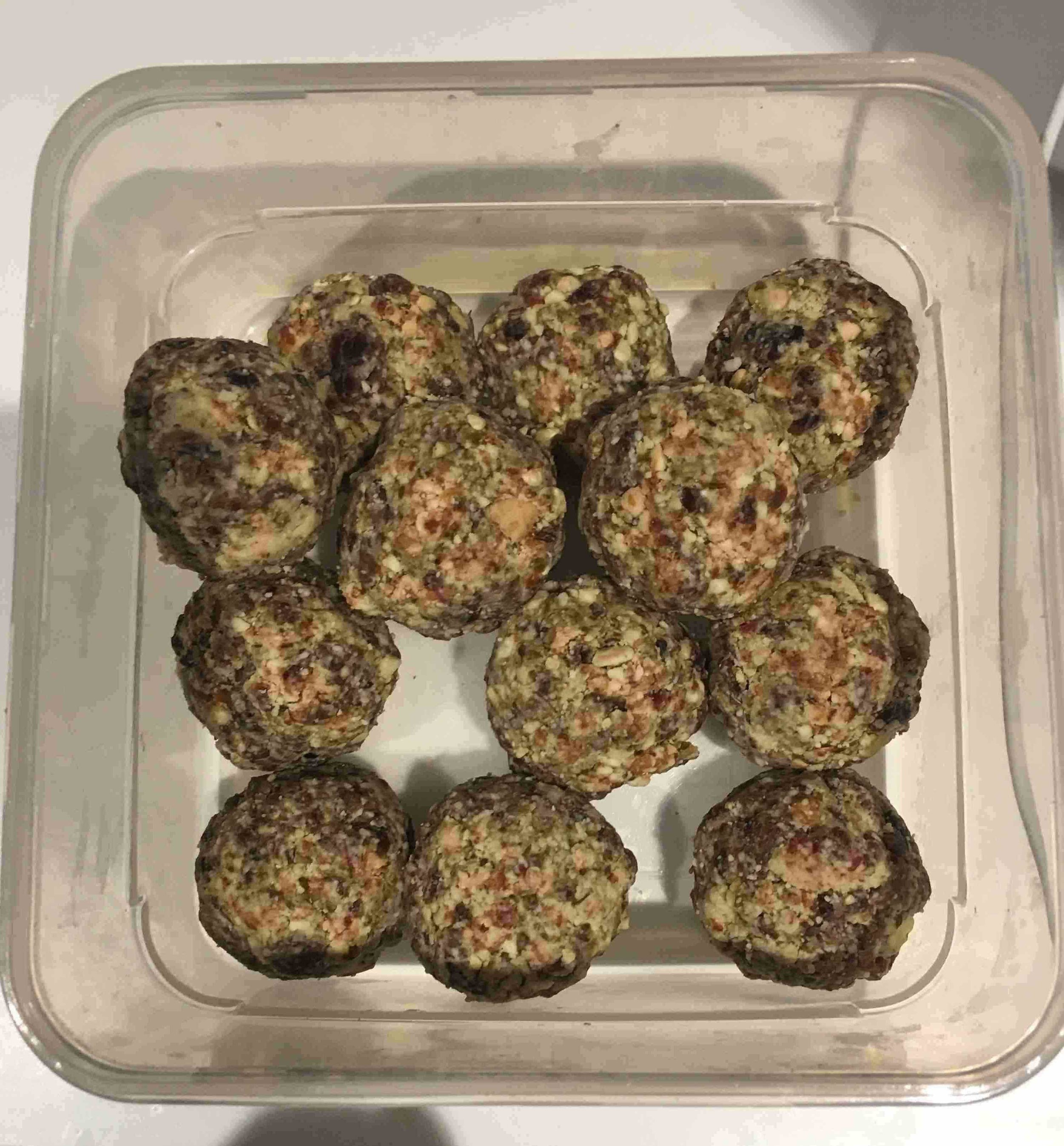 I was becoming addicted to these energy balls