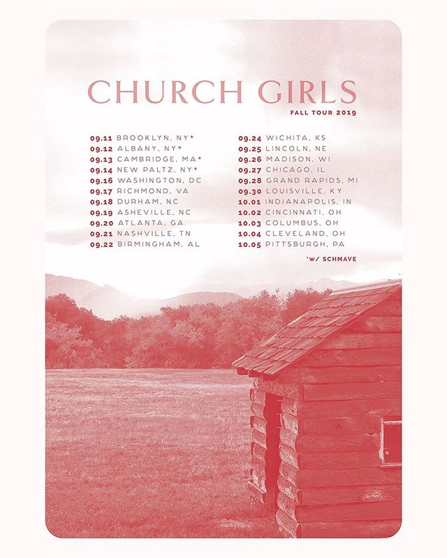 New work for @churchgirlsphl ⚡️ Catch them on the east coast and midwest this fall! . . . . #whitespacesummer #freelancelife #creativeentrepreneur #branding #creativewomen #theeverygirl #coloradomakers #thatsdarling #designporn #designinspo #designyourlife #freelance #bouldermaker #tourposter #branddesigner #brandstylist #fwportfolio #womeninbusiness #logoinspirations #designfeed #dribbble #typography #illustration #photography