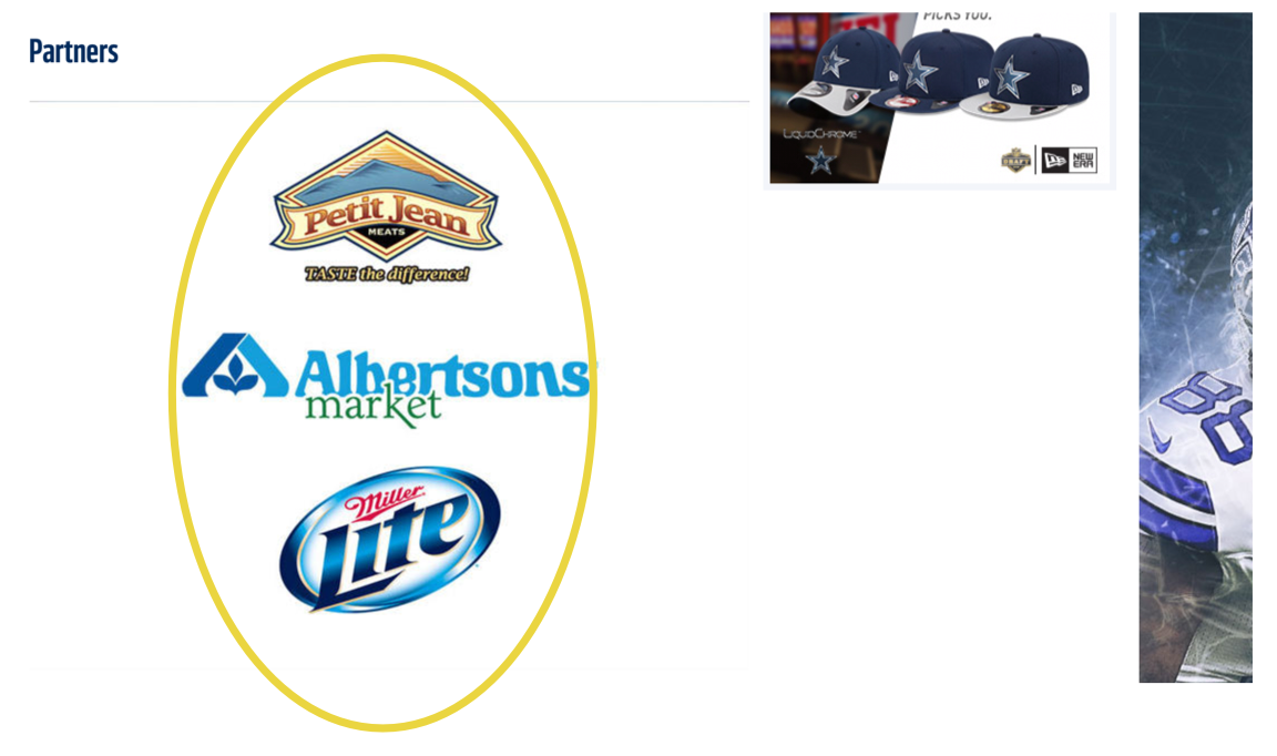 Partners: Petit Jean Meats, Albertsons, MillerCoors/MillerLite