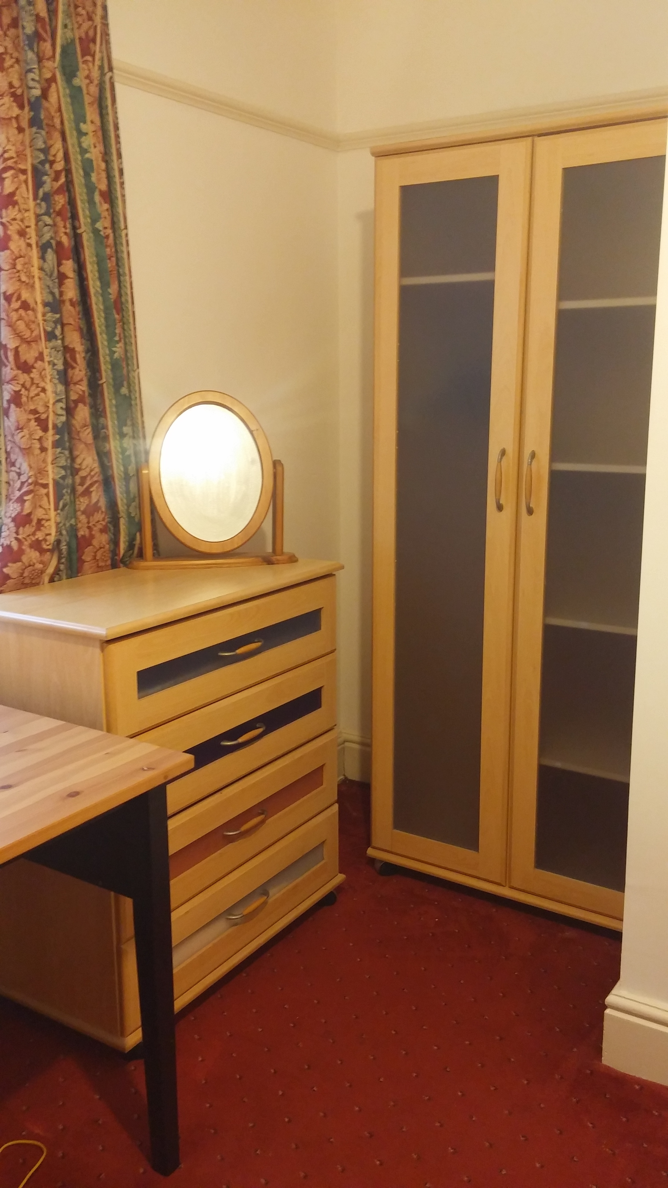 red room clothes storage