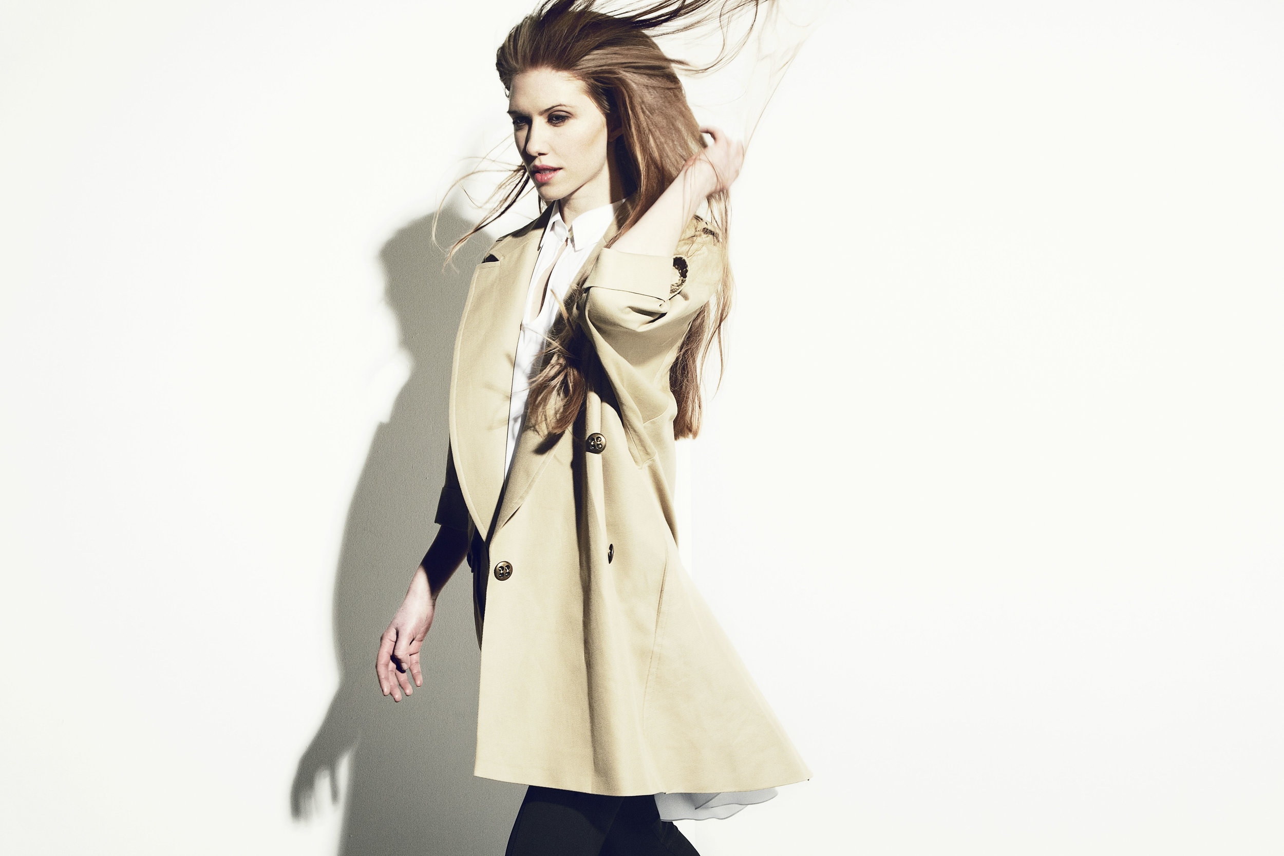 Military Trench Coat  - Made to Order in a selection of fabrics.