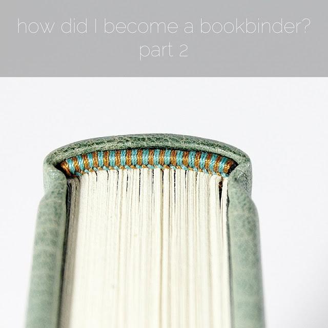 how did I become a bookbinder - part 2 - by Kaija Rantakari / paperiaarre.com
