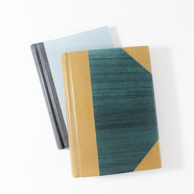 books made in the first month of my bookbinding studies - Kaija Rantakari / paperiaarre.com