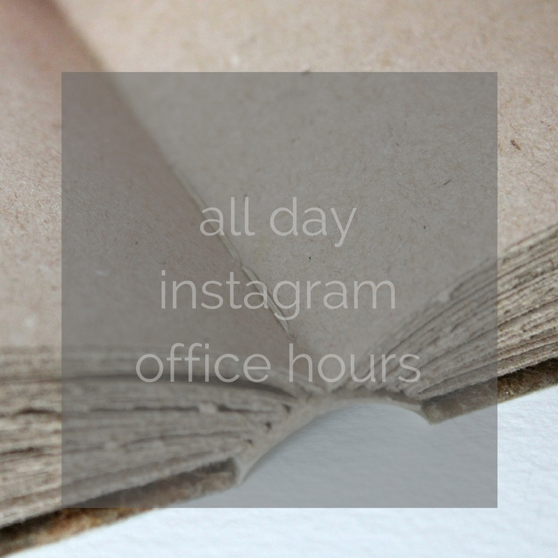 all day instagram office hours on Feb 9th 2017 @paperiaarre