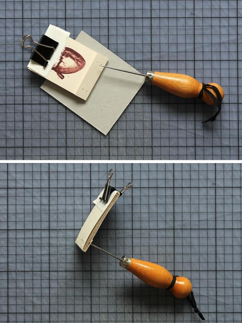 DIY: heart matchbook tutorial + free printable / www.paperiaarre.com