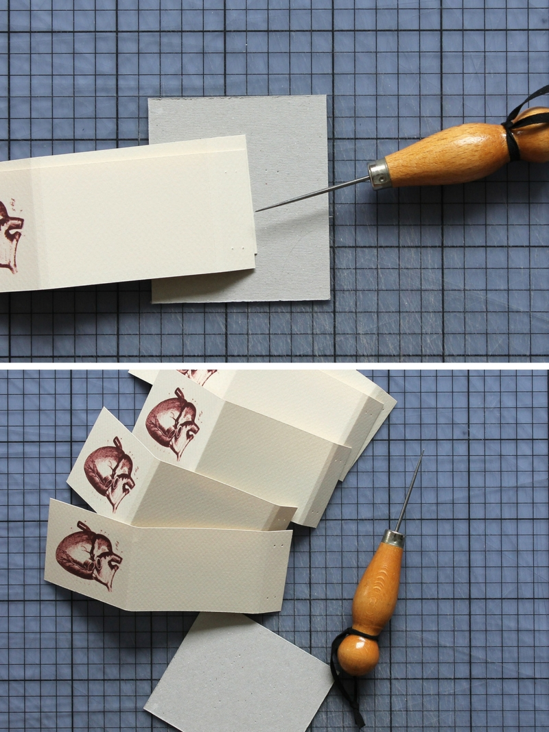 DIY: heart matchbook tutorial + free printable / www.paperiaarre.com