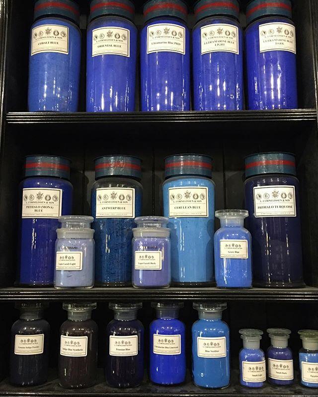 #pigment #colour #art #blue 🎨